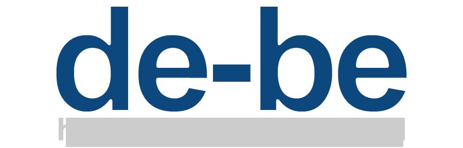 de-be-text-logo-mh-stroke-gray